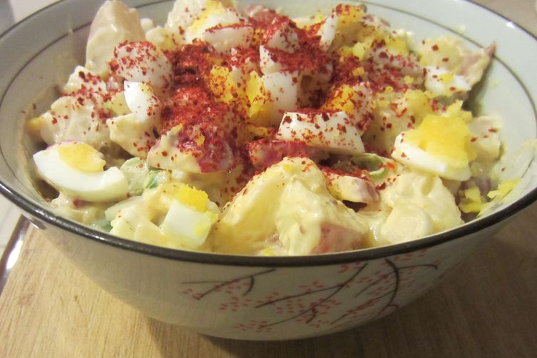 Mom's potato salad with a twist (of lemon)