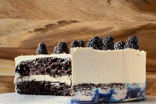 The Vegan & Gluten-Free Triple Chocolate Cake