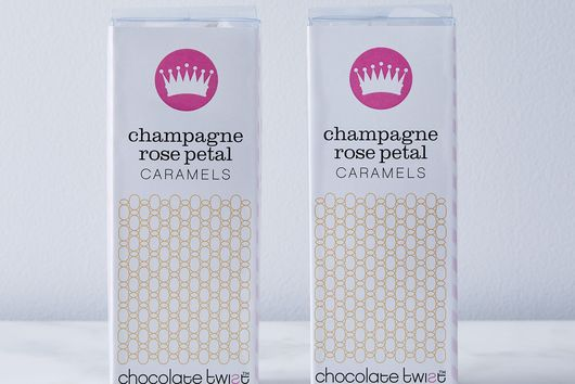 Champagne Rose Petal Caramels (Pack of 2)