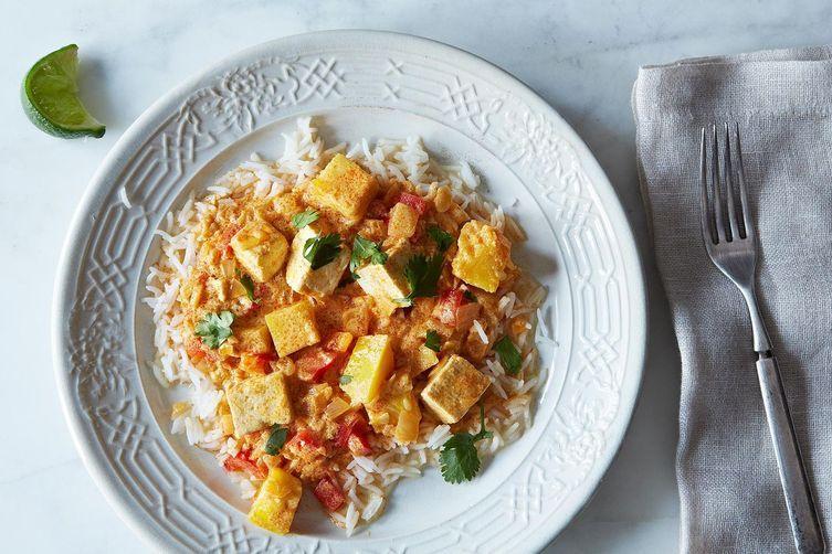 Kobucha Squash and Tofu Curry on Food52
