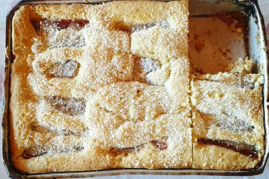 Guava Sheet Cake
