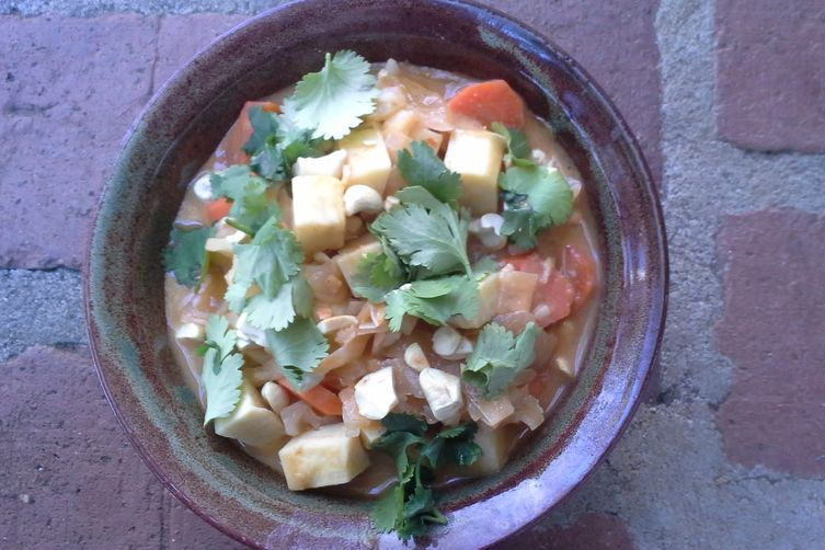 Vegetarian/Vegan Massaman Curry