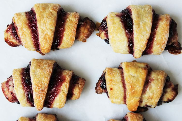 Blueberry Basil Rugelach