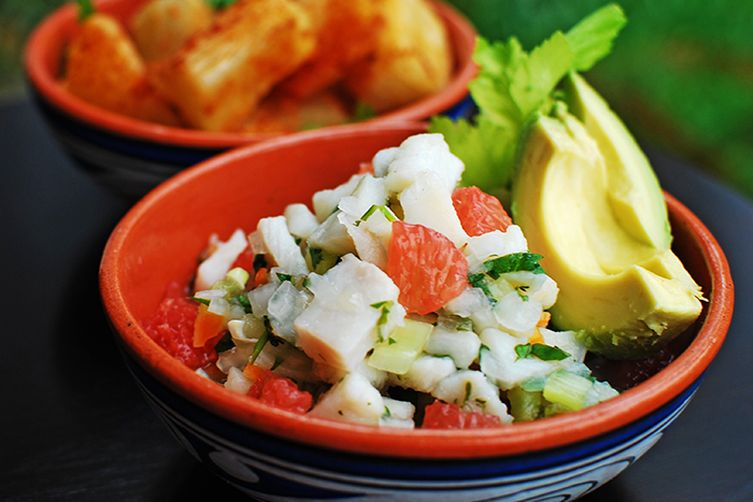 Panamanian fish ceviche recipe on food52 panamanian fish ceviche forumfinder Image collections