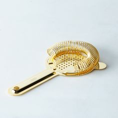 Japanese Gold Cocktail Strainer