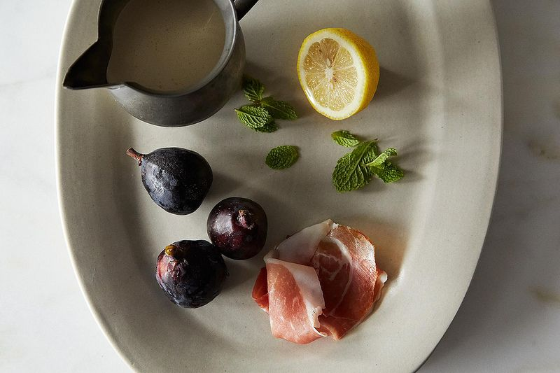 Richard Olney's Genuis Fresh Fig and Mint Salad on Food52