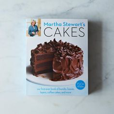 Martha Stewart's Newly Released Cakes Cookbook, Signed Copy