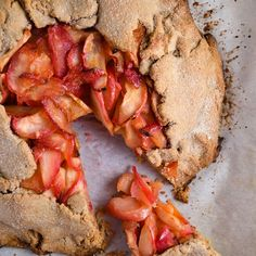 Whole Wheat Apple Galette
