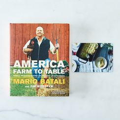 Farm to Table, by Mario Batali, Signed Copy