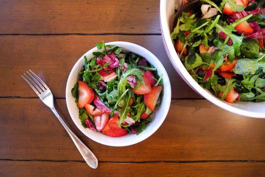 Bittersweet Strawberry Salad