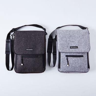 Felted 6 Pocket Knife & Tool Messenger Bag