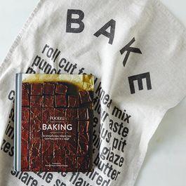Food52 Signed Baking Cookbook Wrapped in Bake Tea Towel