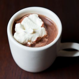Hot chocolate by Practically Eating