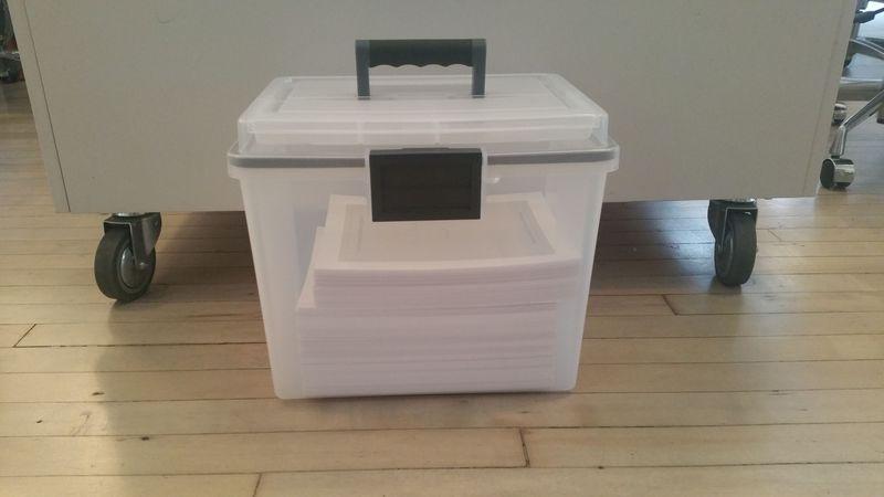 """Merrill's """"briefcase."""""""