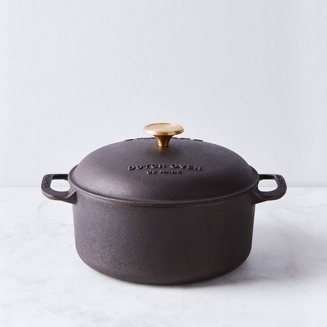 Smithey Cast Iron Dutch Oven, 5.5QT