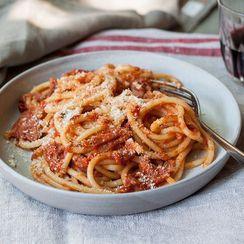Dinner Tonight: Bucatini all'Amatriciana
