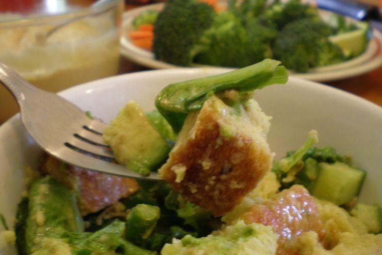 Caesar Bread Salad or Panzanella Giulio
