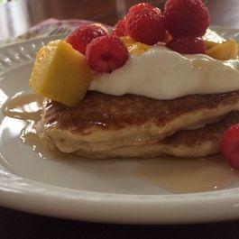 Sunday Morning Buckwheat Pancakes