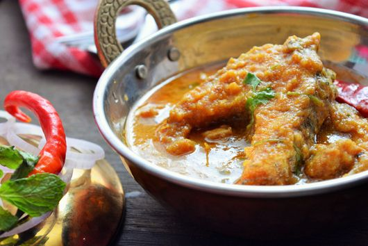 Tangy Fish Curry