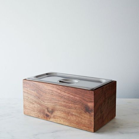 Noaway Countertop Wood Compost Bin