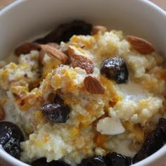 Millet Porridge with Roasted Oranges & Almonds, 3 Ways