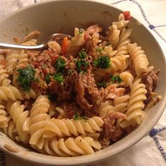 Pork Rib Ragù with Lemon & Butter