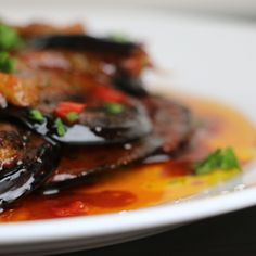 Spicy Pickled Eggplant