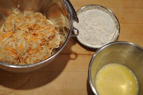 Variegated Spiced Latkes