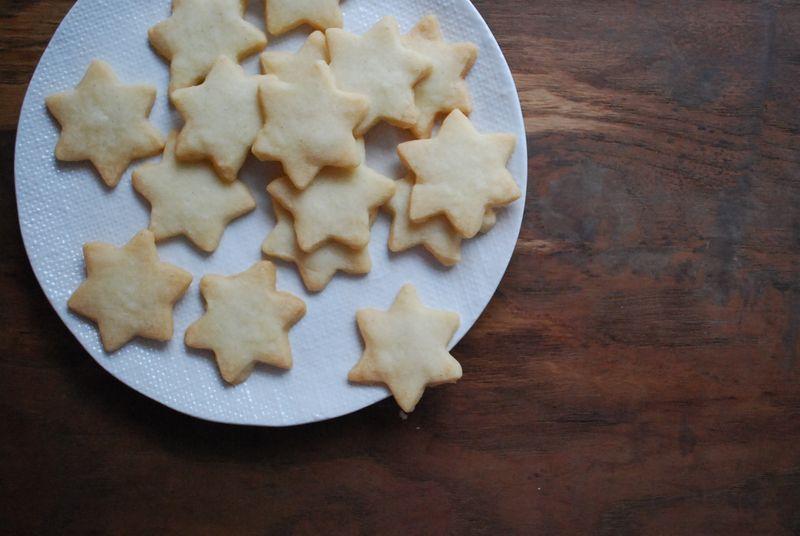 Cornstarch Sugar Cookies