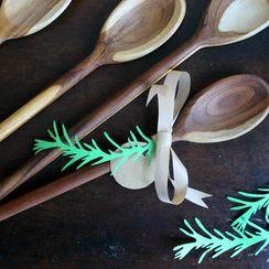 DIY Rosemary Gift Tags