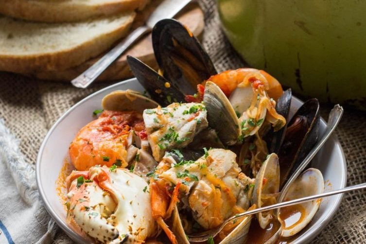 Cioppino with Barramundi