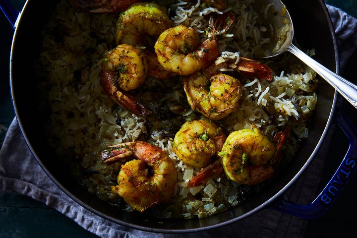 4eeafdb7 1235 4d41 9970 cf002d983106  2017 0509 indian biryani rice shrimp james ransom 156