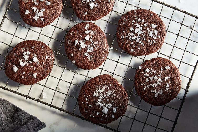 3-Ingredient Nutella Brownie Cookies