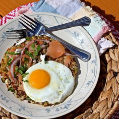 Loaded Giant Latke