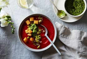 Spring Gazpacho: Not an Oxymoron