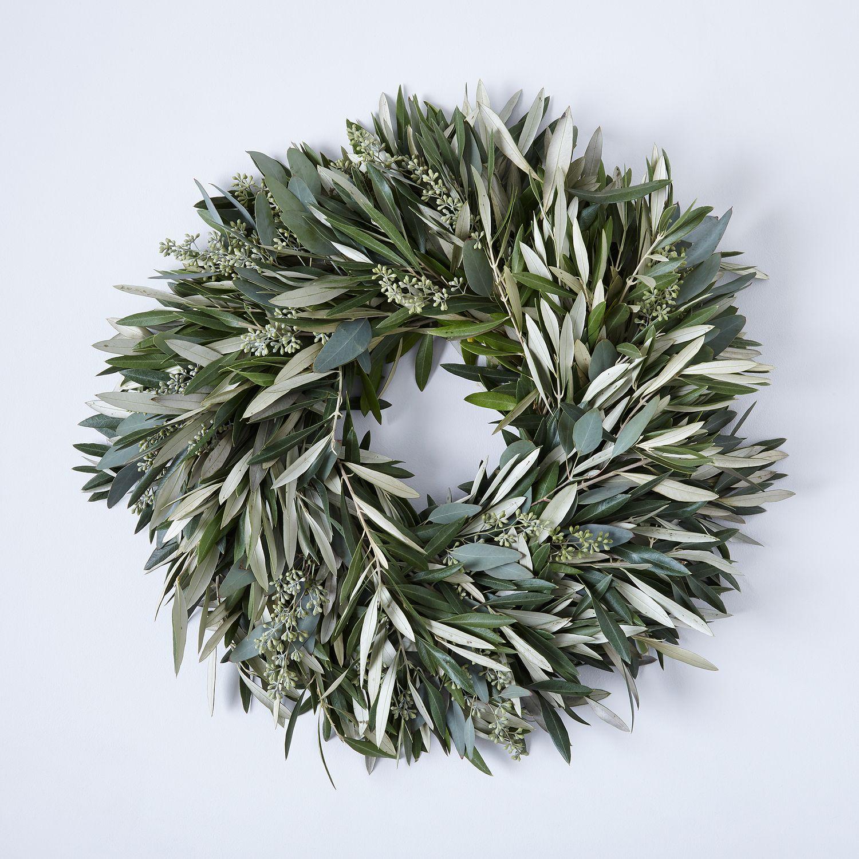 Olive Amp Eucalyptus Wreath On Food52