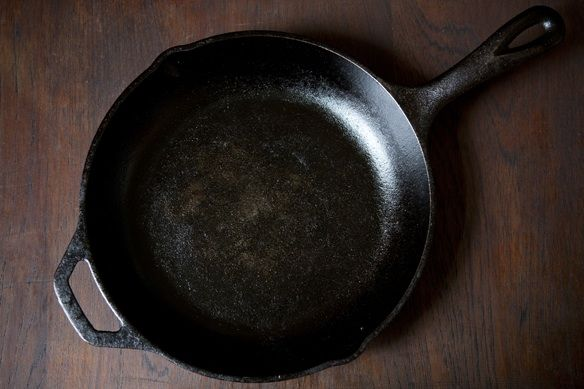 Bare cast iron