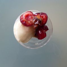 Sundae of Stone Fruit