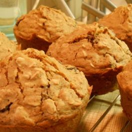 Throwback Oatmeal Muffins