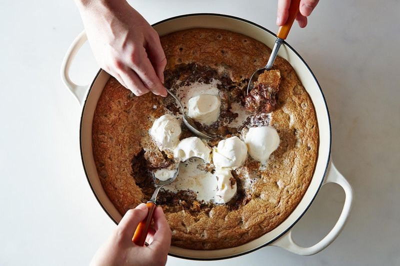 Hey, skillet cookie, lookin' good.