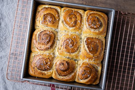 A Journey in Enriched Sourdough: Buttery, Savory Cheese Rolls