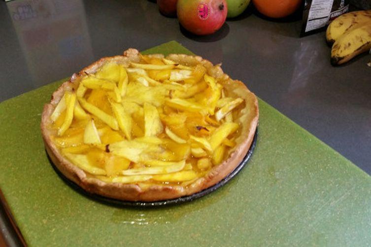 Simple Mango Tart