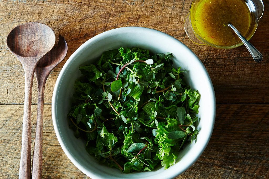 How to make a green salad
