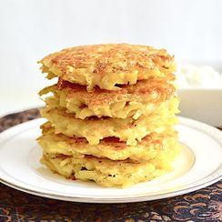 Beef Stuffed Potato Pancakes