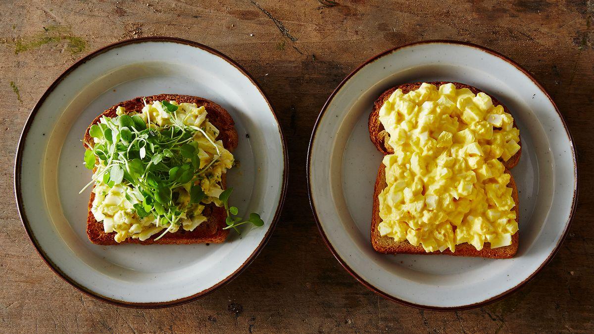 Egg Salad Recipe Mustard Powder