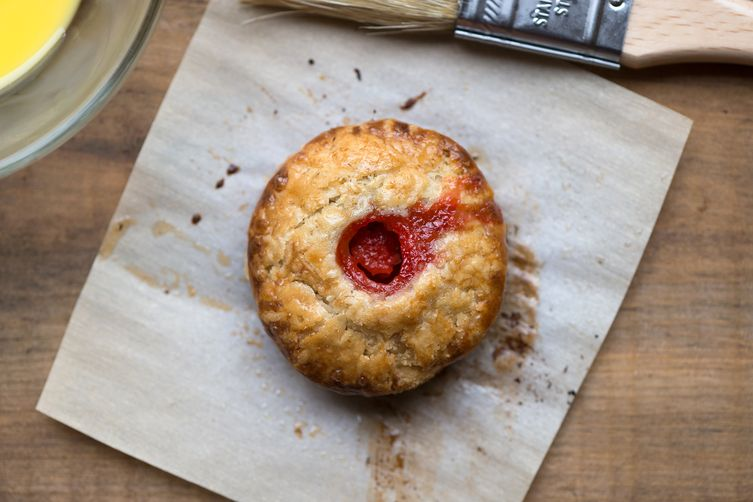 Strawberry Chamomile Hand Pies