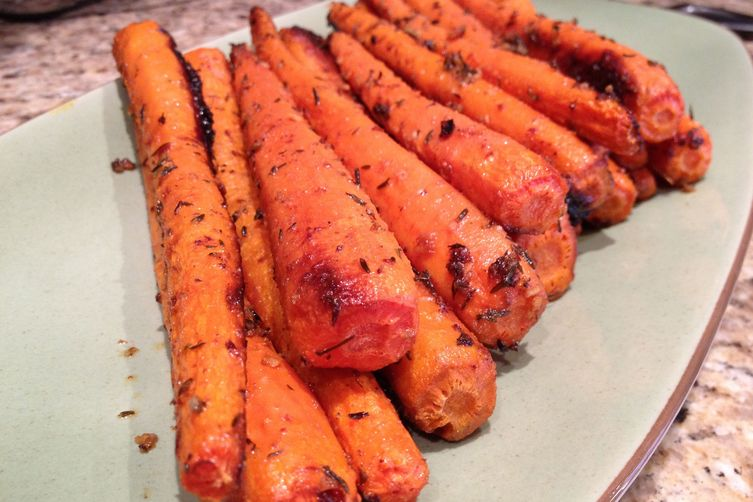 Cumin roasted carrots