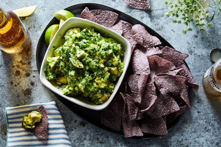 The Chunkiest, Herbiest, Greenest Guacamole