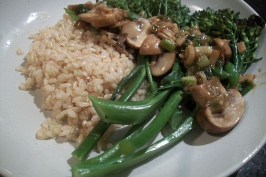 Broccolini with Oyster Sauce