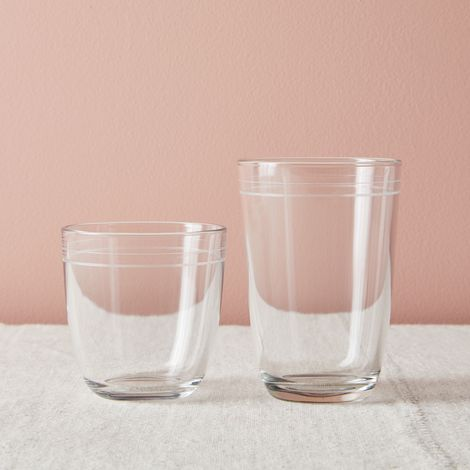 Five Two Stackable Glassware + Bonus Silicone Straws (This Weekend Only)